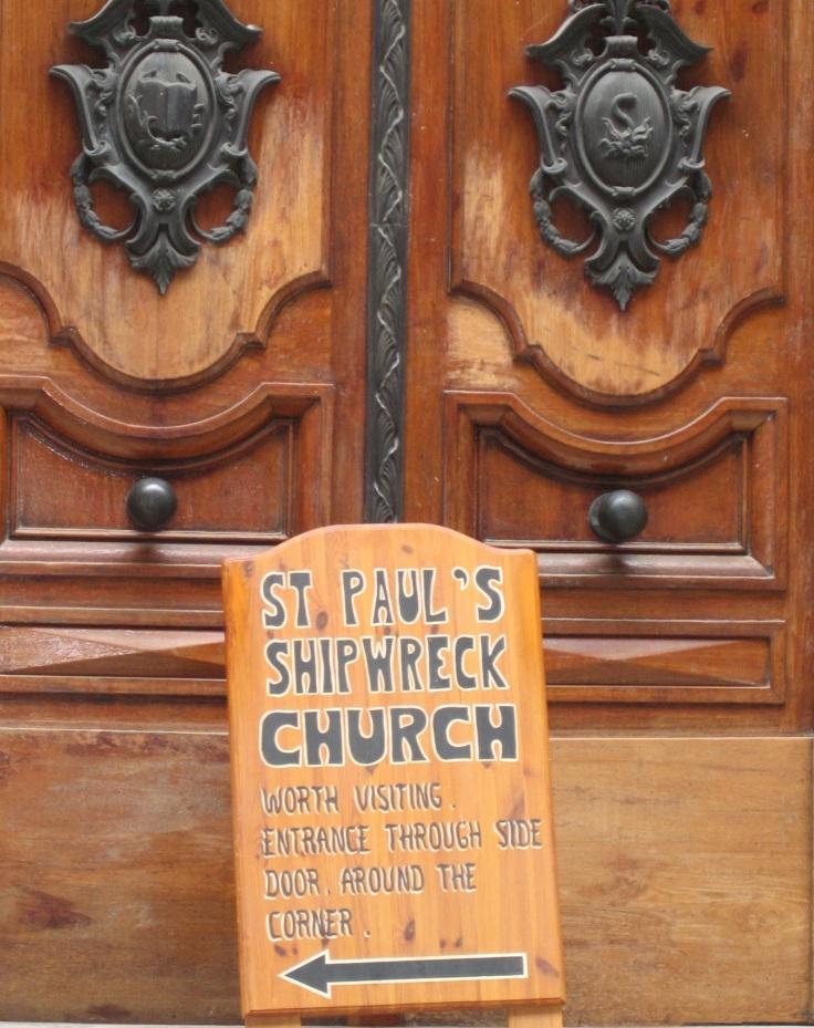 shipwreck church