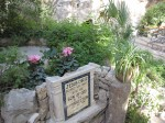At the Garden Tomb in Jerusalem