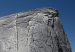 Final ascent to the top of Half Dome