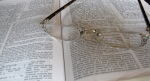 Bible and glasses 1
