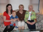 Four Generations on Mother's Day