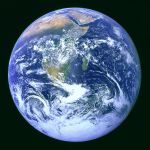 The Blue Marble NASA photo in Public Domain