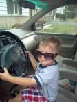 Oliver Driving