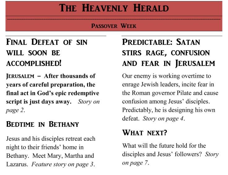 Heaven's Herald Passover