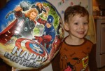 Fascinated with super heros at an early age!