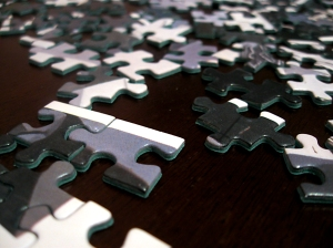 Puzzle pieces from morguefile