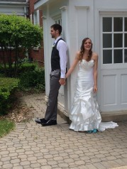 Pre-wedding corner