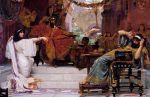 Esther Denouncing Haman by Ernest Normand, Public Domain