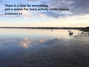 Time for everything under heaven